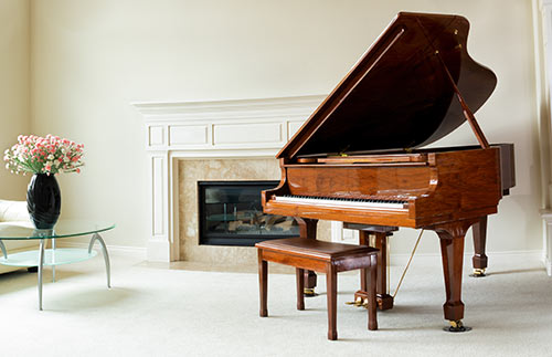 Beautiful Grand Piano