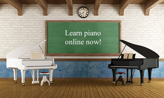 Learn with two pianos at the same time
