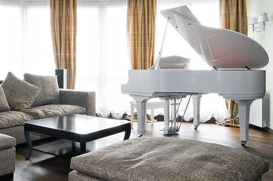 Piano in your living room